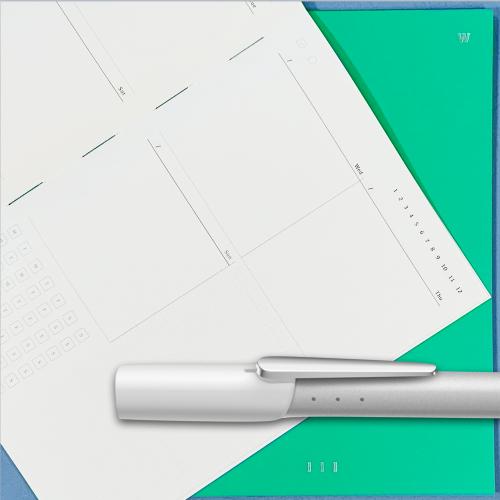 銀白色/綠色周計畫