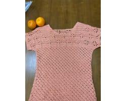 鉤織 連袖夏衫
