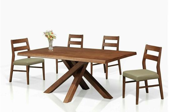 全實木南洋風餐桌椅